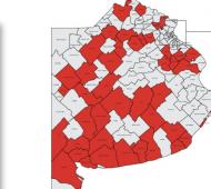 Covid en Provincia: Dorrego y Villarino bajaron sin escala de fase 5 a 3