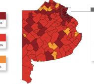 Fases Covid Provincia de Buenos Aires: Así quedó el mapa