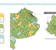 Covid-19 en Provincia: General Guido, Guaminí y Puán cambiaron de fase