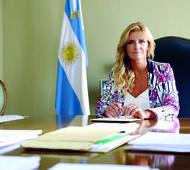 Marissa Fassi no escatimó elogios con la Gobernadora.