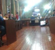 Asumieron los nuevos concejales en Tapalqué. Foto: Alvear Ya!