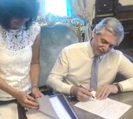 """Doble indemnización: Gray """"orgulloso"""" del presidente Fernández que se puso """"del lado del pueblo"""""""