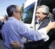 El Presidente vicitó el Conurbano bonaerense
