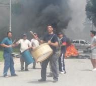 Los trabajadores iniciaron un paro en la planta de Tortuguitas.