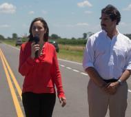 """Vidal inauguró la """"Ruta del Cereal"""" entre Pehuajó y Daireaux."""