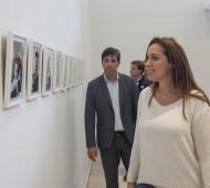 Vidal en Los Toldos: Visitó la nueva casa museo de Eva Perón