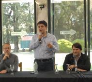 Macri encabezó el encuentro en Tres de Febrero.