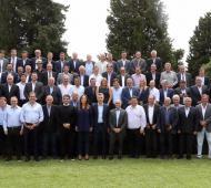 Macri almorzó en Olivos con Vidal y los intendentes bonaerenses de Cambiemos