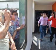 Vidal recorrió Guaminí junto al Intendente Néstor Álvarez.