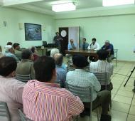 Sarquis encabezó el encuentro en Ayacucho.
