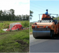 Las quejas de los vecinos por los accidentes impulsaron el inicio de los trabajos.