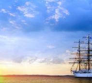 Llega la Fragata Libertad a Mar del Plata tras cinco meses de travesía y se podrá visitarla