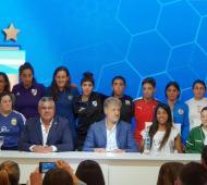 Histórico: La AFA creó la Liga Profesional de Fútbol Femenino