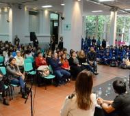 Ezequiel Galli destacó la capacitación desarrollada por la institución Corim sobre autismo. Foto: Prensa