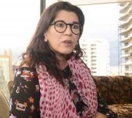 """Cynthia García confesó que """"está difícil conseguir trabajo""""."""