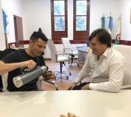Mauro García y Darío Kubar