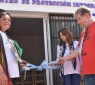 "Miramar: Ministra de Mujeres bonaerense inauguró la casa de protección ""Natalia Melmann"""