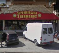 Asalto y golpes a dueña de supermercado en Villa Gesell