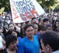 Semanas atrás, los empleados protestaron frente al municipio. Foto: @NoticiasLF1