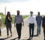 Katopodis en Pergamino y Colón: Avances sobre la autovía 8