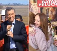 Macri en Pergamino mientras, Vidal, lejos, en Mar del Plata