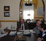 Gobbi se reunió junto a Moscarella. Foto: VN24