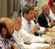 Los Gobernadores peronistas se reunieron en San Juan.