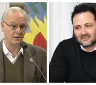 Daniel Gollán y Victor Aiola