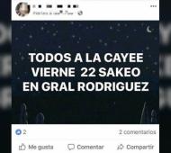 Detuvieron a una mujer que instaba a realizar saqueos en General Rodríguez