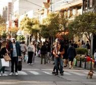 La calle Guemes desbordó de gente