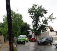 El asesinato ocurrió en la puerta de la vivienda del asesor legal, ubicada en la calle Martín Rodríguez al 300. Foto: Clarín