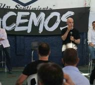 Lanús: Rodríguez Larreta y Grindetti en lanzamiento de espacio peronista opositor