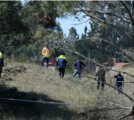 La zona donde fue hallado el cuerpo. Foto: Telégrafo.