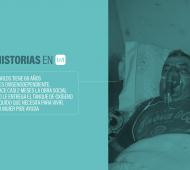 Carlos tiene 68 años y es de Florencio Varela.