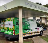 Hospital San Luis en Bragado.
