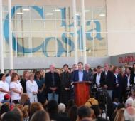 Se trata del nuevo centro de salud ubicado en la ciudad del partido de La Costa. Foto: Prensa