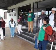 Salliquelló: Quite de colaboración en hospital municipal