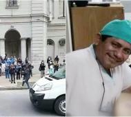 Antonio Gil Yovera era enfermero del Sor María Ludovica desde 2013