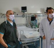 Coronavirus en Pringles: Las cinco camas de la terapia intensiva en el Hospital local están ocupadas