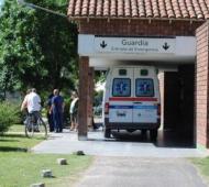 El hombre fue trasladado al Hospital de Baradero.