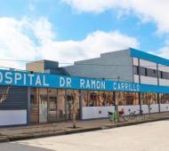 "Coronavirus en Castelli: Hospital ""Dr Ramón Carrillo"""