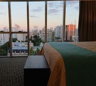 Una de las habitaciones de Days Inn en La Plata, inaugurado en junio de 2018