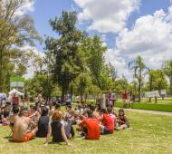 La celebración consistió en una jornada recreativa en el Polideportivo Municipal.