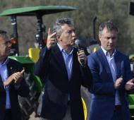 Macri en Mendoza Foto: Prensa