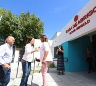 Grindetti y Stanley visitaron Casa de abrigo en Monte Chingolo para chicos en situación de vulnerabilidad