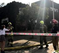 Amenaza de bomba en el Colegio IMEI de Cañuelas. Foto: Cañuelas Ya