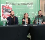 Izq a der: Juan Martin Hsu, Martin Turnes, Lucía Miranda, Alberto Romero y Alejandro Rath. FOTO: Romi Pinto