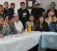 Los concejales de Unidad Ciudadana de la Segunda Sección se reunieron en Baradero.