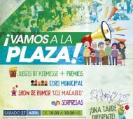 """Malvinas Argentinas: Comienza """"Vamos a la plaza"""". Foto: Prensa"""