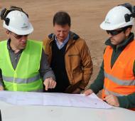Villarino: Comenzó la construcción de la primera planta de biogás de la región